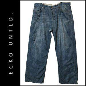 Ecko Unltd Men Straight Denim 100% Cotton Jeans 42